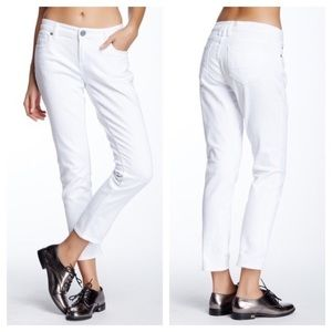 Kut from the Kloth Jeans - Kut from the Kloth Jeans Katy Boyfriend White 4